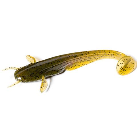 Силиконовая приманка FishUp Catfish цвет № 074 - Green Pumpkin Seed