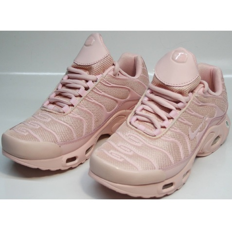 Розовые кроссовки женские найк nike air max plus tn