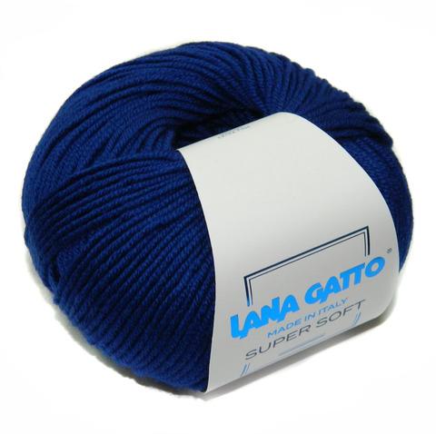 Пряжа Lana Gatto Supersoft 14339 электрик