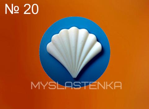 Силиконовый молд Декоративный элемент № 20