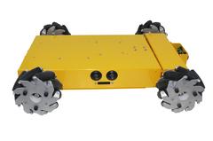 4х колесная платформа Nexus на колесах Mecanum диаметра 100мм
