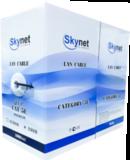 Купить кабель витая пара UTP indoor 4x2x0,51 Cu, Fluke test, 305м., SkyNet Premium (CSP): цена за метр