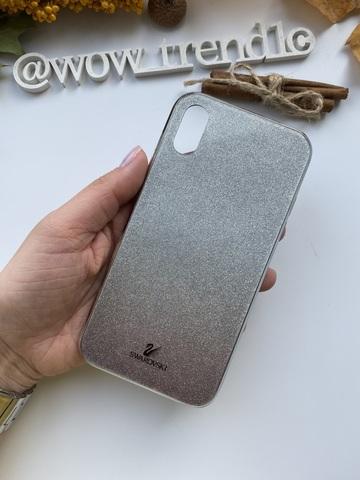 Чехол iPhone  XS Max Swarovski Case /black/