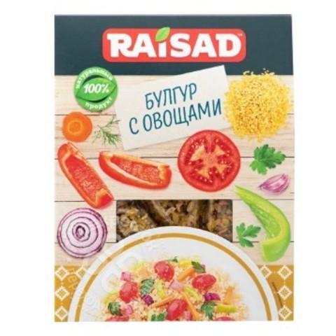 """Гарнир """"Булгур с овощами"""" Raisad, 200г"""