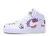 Supreme x NBA x Nike Air Force 1 Mid 'White'