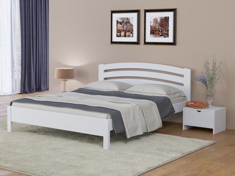 Кровать Тахта - Веста 2 с основанием Белая Эмаль