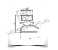 Уплотнитель для холодильника Памир 77. Размер 1330*550 мм (013)