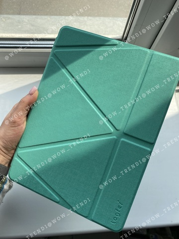 Чехол Origami Case iPad mini 1/2/3/4/5 Leather embossing /green/