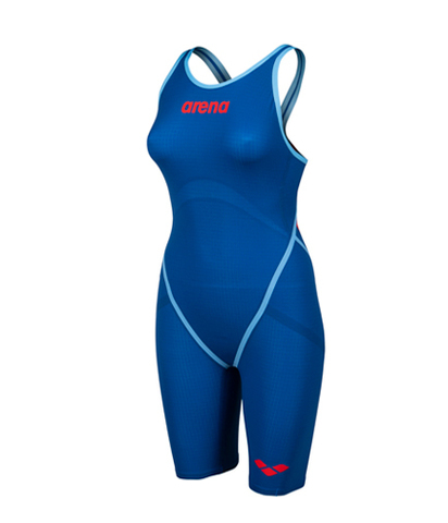 НОВИНКА 2020!!! Стартовый костюм ARENA Women's Powerskin Carbon - Core FX Open Back - FINA approved blue ocean ПОД ЗАКАЗ