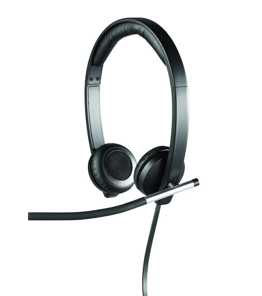 LOGITECH H650e Dual USB Wired Headset