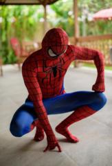 Мужской костюм Человек-паук Marvel спандекс