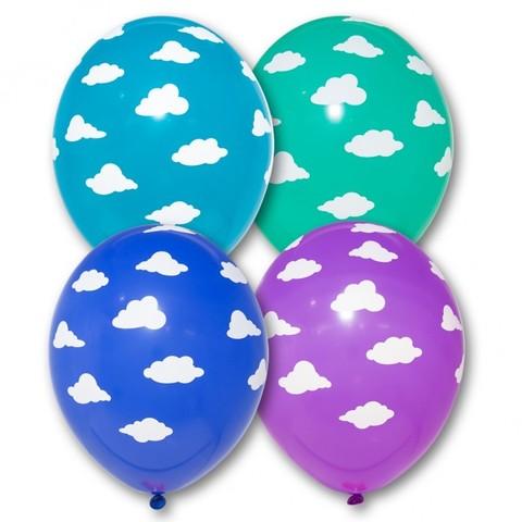 Воздушные шары с облаками