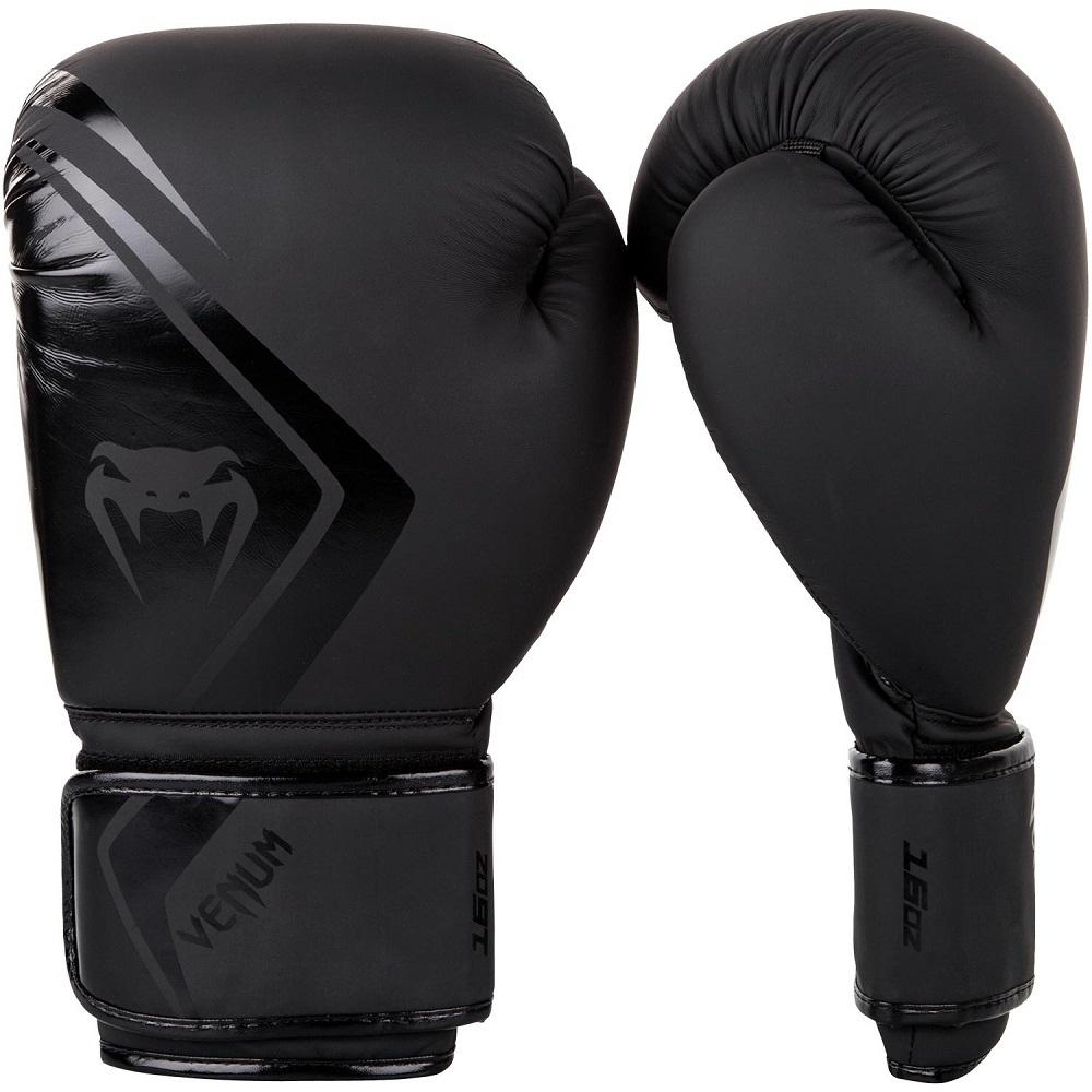 Перчатки Перчатки для бокса Venum Contender 2.0 Boxing Gloves - Black/Black 1.jpg