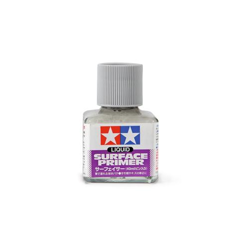 Грунты Tamiya Liquid Surface Primer Gray, Грунт жидкий Серый, 40 мл 87075.jpg