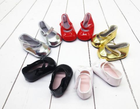 Взуття для ляльки. Туфлі з ремінцем для ляльки