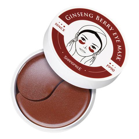 Гидрогелевые патчи, для глаз с экстрактом женьшеня Shangpree Ginseng Berry Eye Mask, 60шт