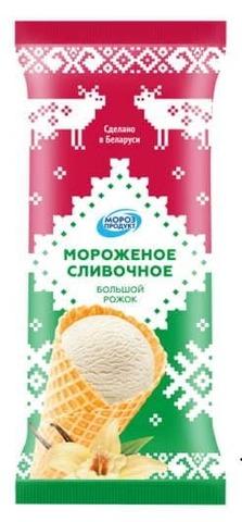Белорусское мороженое сливочное