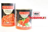 Помидоры очищенные в томатном соке с базиликом Casa Rinaldi 3 кг