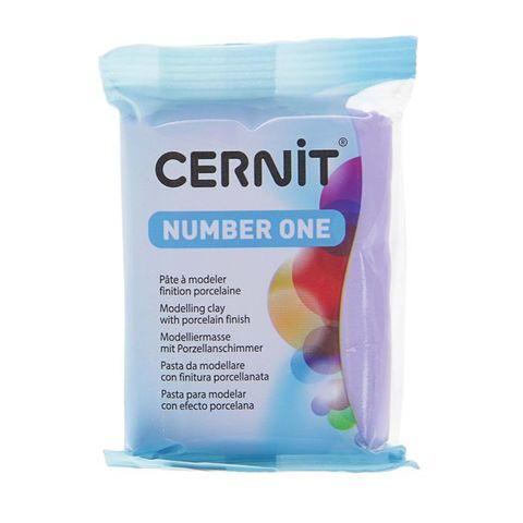 Полимерная глина CERNIT N1 56г, серо-голубой 223