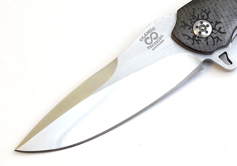 Нож Olamic Cutlery Wayfarer Scull - фотография