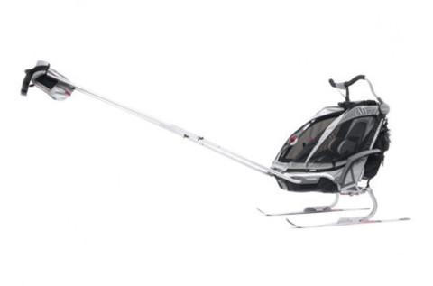 Картинка коляска Thule Chariot Chinook1 со спортивным и прогулочным набором