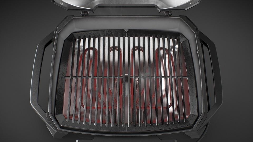 Гриль электрический Weber PULSE 2000, черный