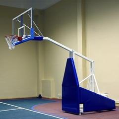 Стойка баскетбольная профессиональная мобильная складная вынос 2,25м. «ATLET 225».
