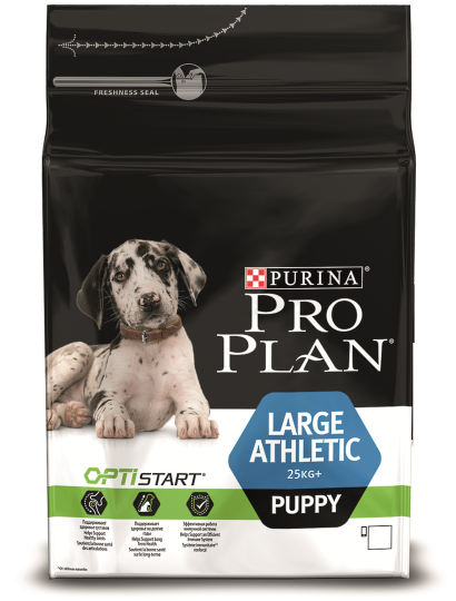 PRO PLAN Large Puppy Athletic, 3 кг