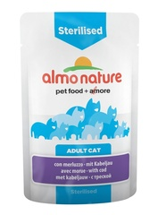 Паучи Almo Nature Functional - Sterilised with Code
