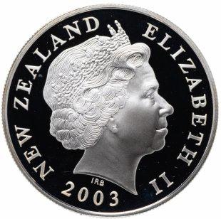Набор из 6 монет 1 доллар - Властелин колец. Нова Зеландия. Серебро. 2003 г.