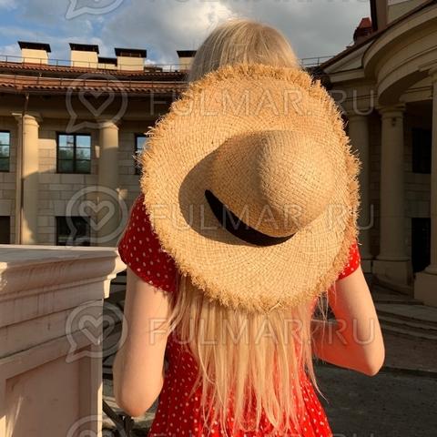 Шляпа летняя соломенная женская