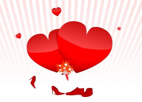 Печать на вафельной бумаге, День Влюбленных 17