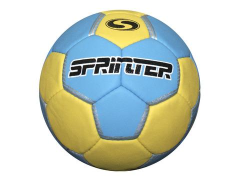 Мяч для гандбола Sprinter №3. Выполнен из синтетической кожи на основе полиуретана. Допускает использование мастики. Уровень игры: тренировочный.