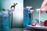 Набор шпажек-маркеров для бокалов Cool animal Qualy QL10169-MX   Купить в Москве, СПб и с доставкой по всей России   Интернет магазин www.Kitchen-Devices.ru