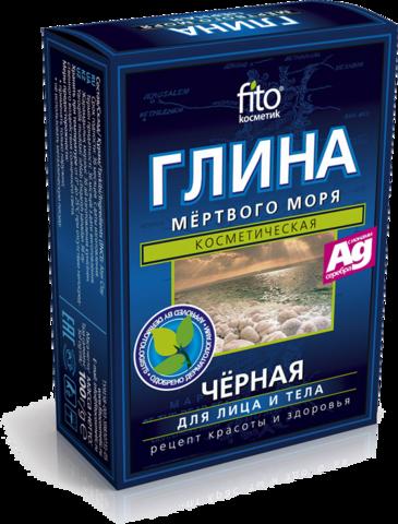 Фитокосметик Глина Мертвого моря 100г