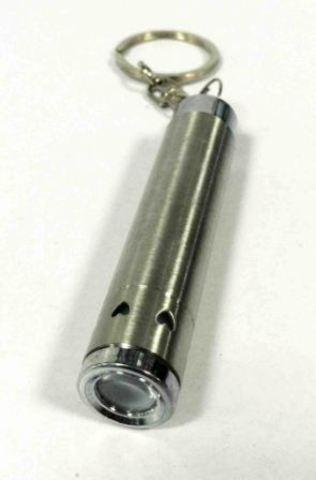 Фонарь-брелок YF-912 4*LR44 SILVER 1510-133  /24