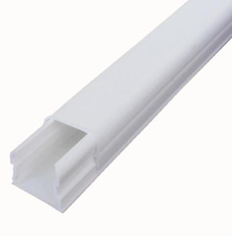ECO 12Х12 Миниканал 12Х12 мм. 1шт=1м. Цвет Белый. Ecoplast (ЭКОПЛАСТ). 77221