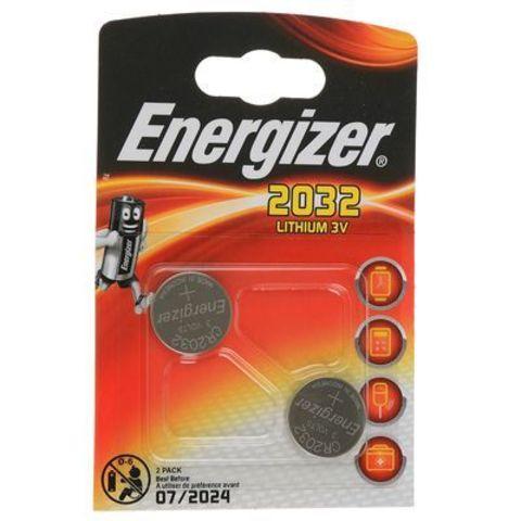 Батарейки Energizer 2032 2шт/упак
