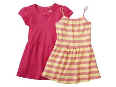 Комплект для девочки платье+сарафан Lupilu