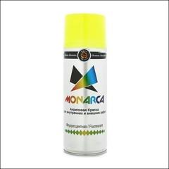 Краска аэрозольная акриловая Monarca флуоресцентая (желтый)