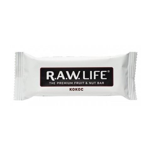 R.A.W Life орехово-фруктовый батончик Кокос 47 гр