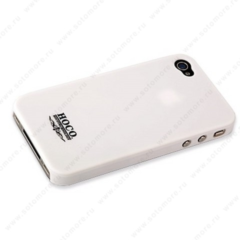Накладка HOCO для iPhone 4 - HOCO Frosted Case White