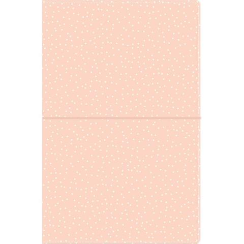 Блокнот (14,5х22 см)- Carpe Diem Traveler's Notebook- Blush Speckle