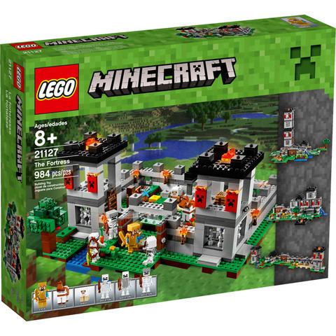 LEGO Minecraft: Крепость 21127 — The Fortress — Лего Майнкрафт