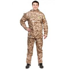 Мужской противоэнцефалитный костюм Биостоп ® - Премиум (цвет - песочный камуфляж)