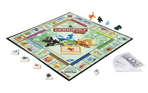 Hasbro: Игра настольная Монополия Джуниор A6984 — Monopoly Junior Board — Хасбро
