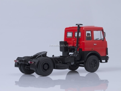 MAZ-5432 road tractor early cabin red AutoHistory 1:43