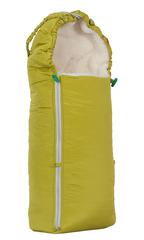 Чудо-Чадо. Конверт меховой Классика, зеленый, вид 4