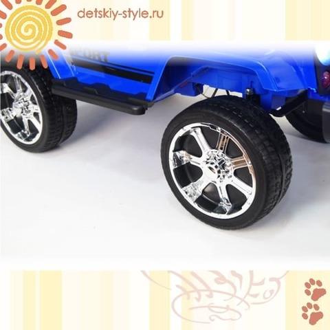 "Электромобиль River Toys ""Джип Т008ТТ"" 4WD"