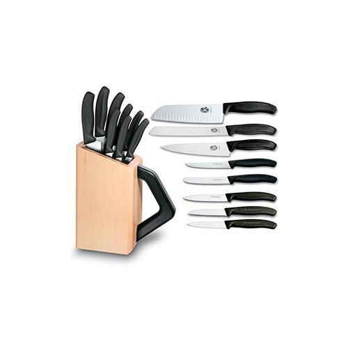 Набор кухонных ножей Victorinox в подставке (6.7173.8) - Wenger-Victorinox.Ru
